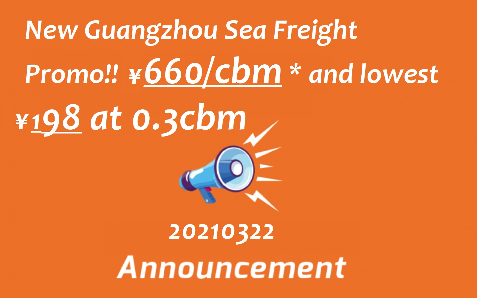 2021 myposman sea freight promotion